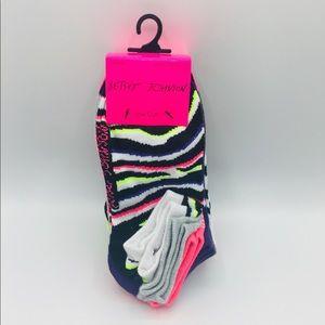Betsey Johnson Women's Low Cut Socks 10 Pairs
